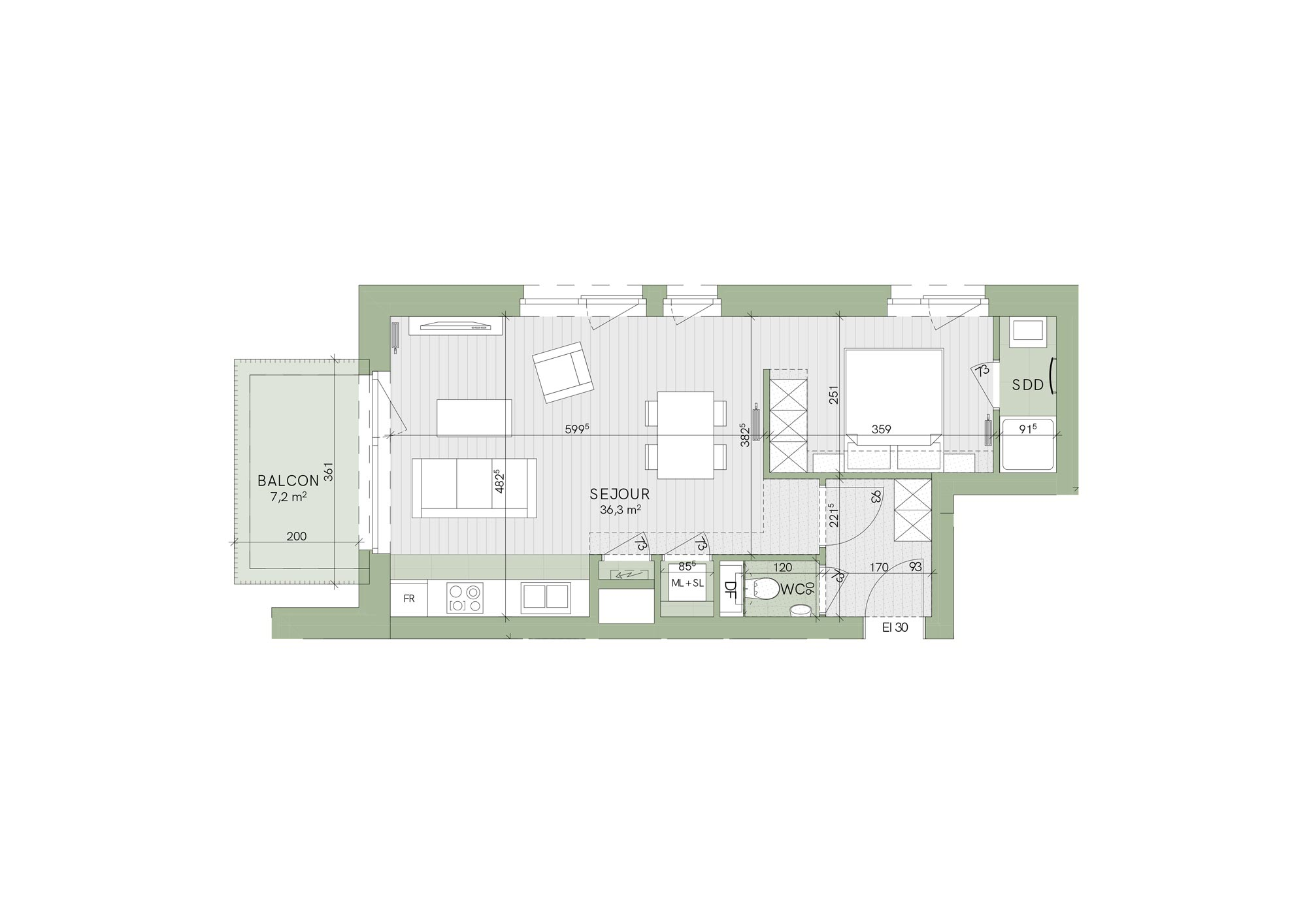 SoStockel - Une Chambre